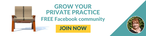 Grow your private practice, free Facebook community for counsellors and therapists