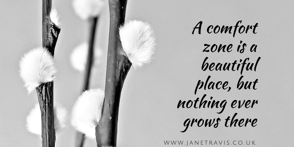 Don't get stuck in your comfort zone - Jane Travis, helping counsellors and therapists grow their practice
