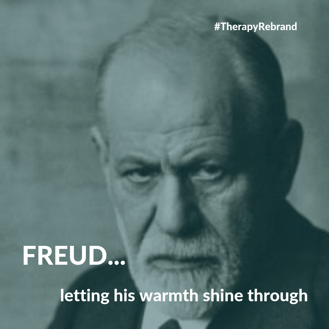Freud, the original therapy poster boy