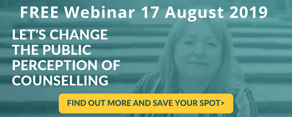 FREE webinar Let's change the public perception of counselling