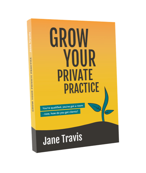 Grow Your Private Practice book by Jane Travis