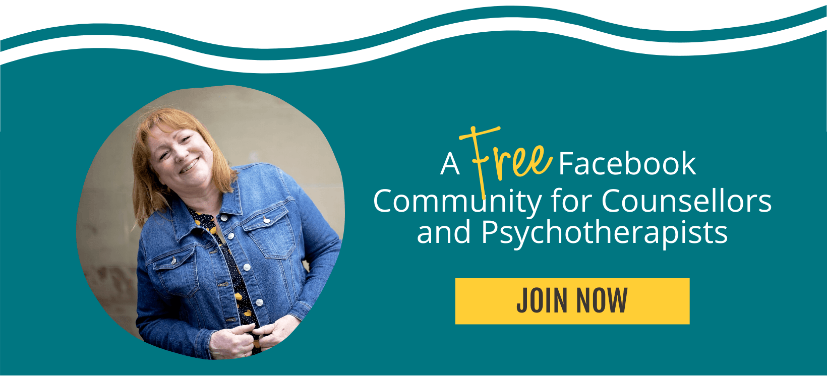 FREE Facebook group for counsellors and psychotherapists