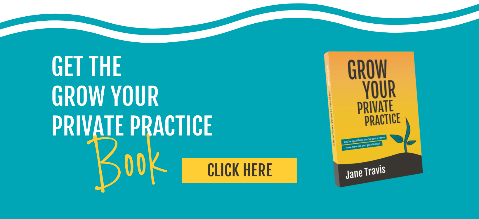 Grow Your Private Practice book, for counsellors and psychotherapists