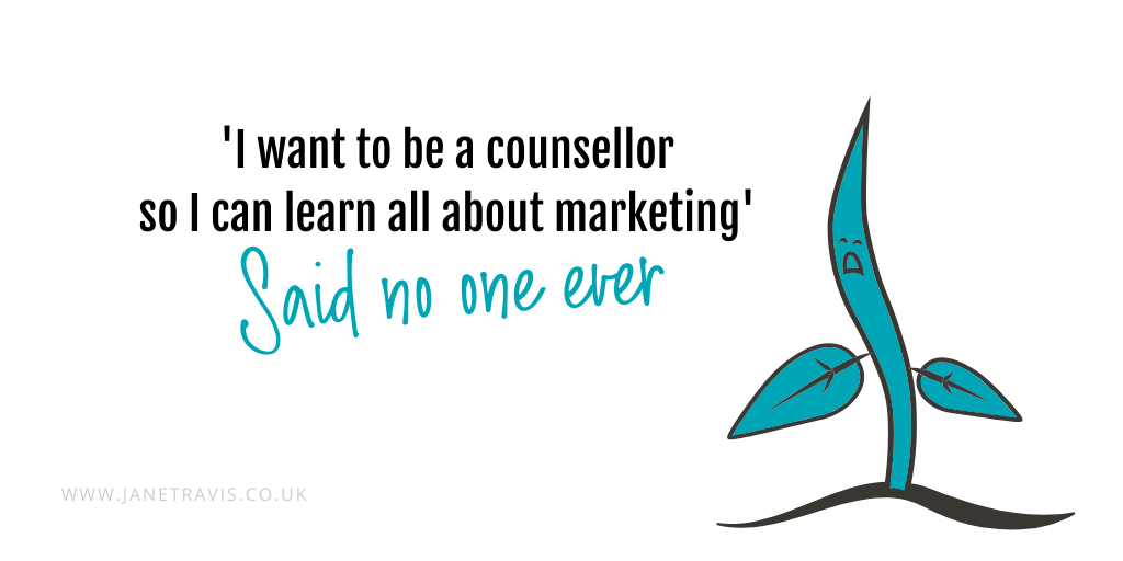 'I want to be a counsellor so I can learn all about marketing'